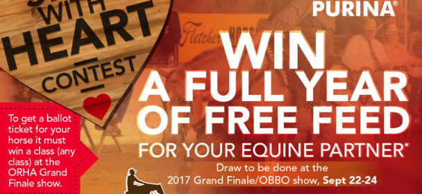 Spin with Heart – Free Purina Grain for a Year Raffle
