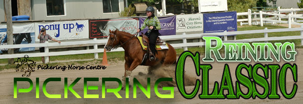 Pickering Reining Classic featuring the OBBO Futurity
